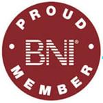 Trust badge Proud BNI Member