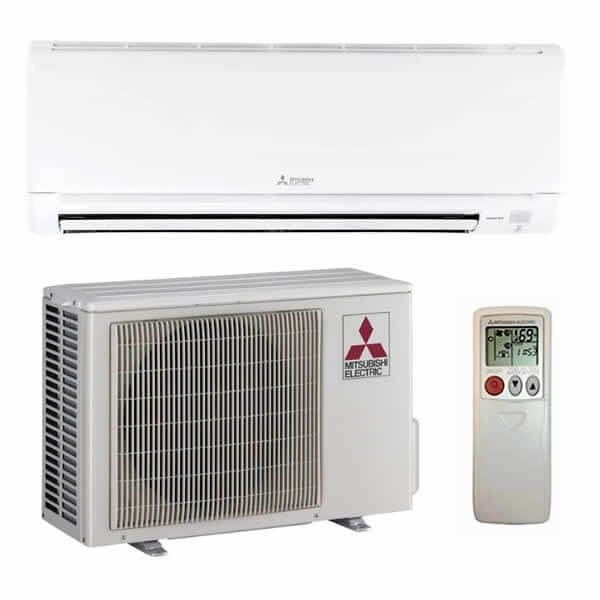mitsubishi electric ductless hvac system