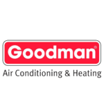 goodman air conditioning & heating logo